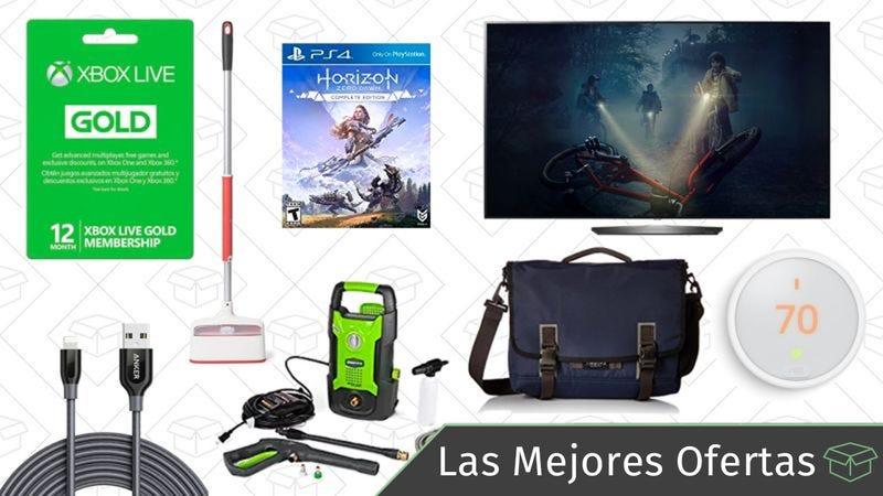 Illustration for article titled Las mejores ofertas de este miércoles: Xbox Live, televisores OLED, bolsas Timbuk2 y más