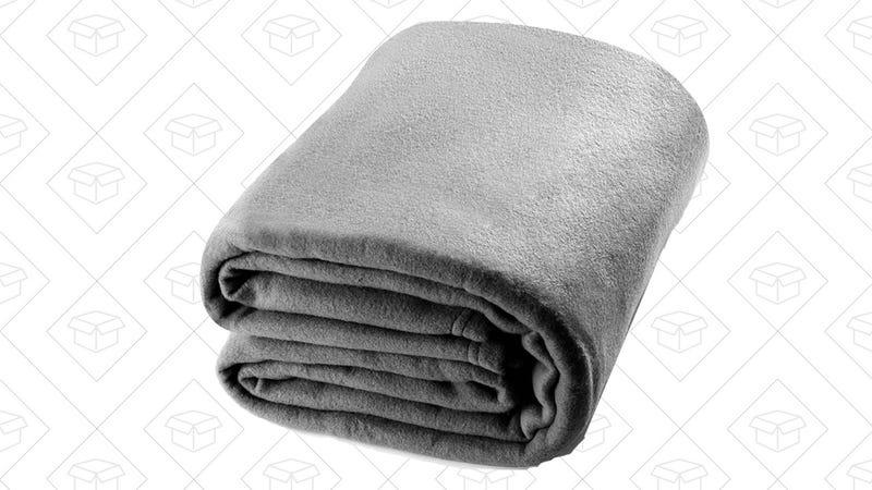 Queen Polar-Fleece Thermal Grey | $14 | Amazon | Use code ZGE4DP33
