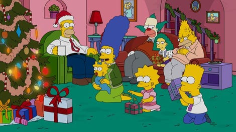 Christmas Simpsons.This Christmas The Simpsons Aims For Heartwarming Lands On