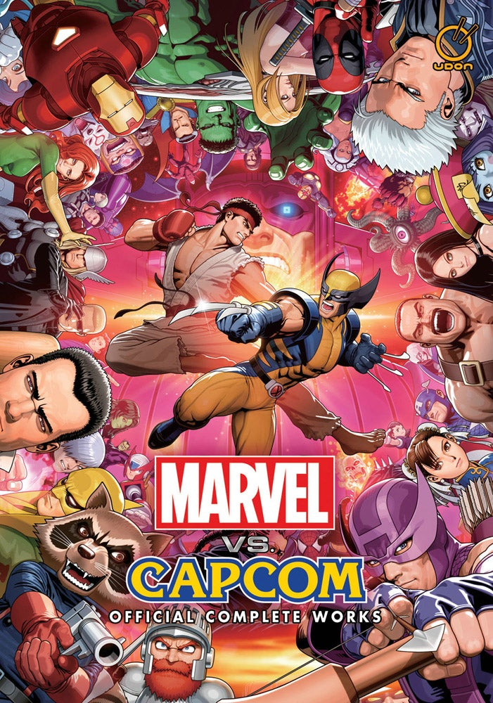 The Most Amazing Collection of Marvel Vs  Capcom Art the World Has