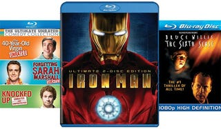 Illustration for article titled This Week in Blu-ray: Iron Man Knocked Up Edition