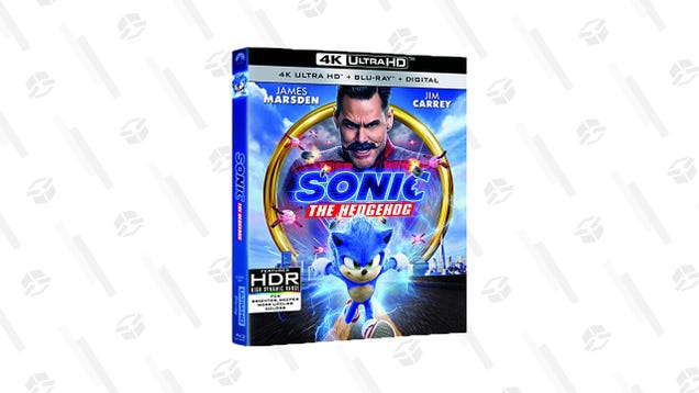 Proceed at a Speedy Pace to Amazon For a Sonic the Hedgehog Blu-Ray Sale