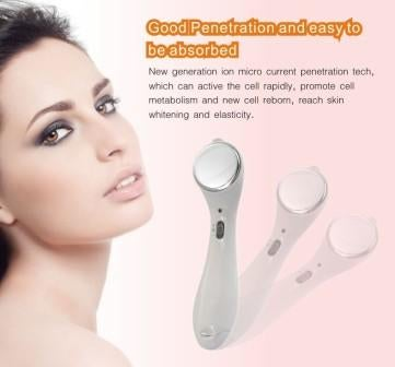 Illustration for article titled Ion Face Massager Alat Kecantikan Paling Praktis
