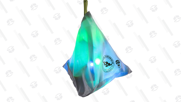 These Big Agnes mtnGLO LED Tent & Camping Lights come in a a few festive hues that will make any tent feel instantly cooler. Easily hang them in string form with the included plastic clamps, or keep them in their pouch to create a lantern.