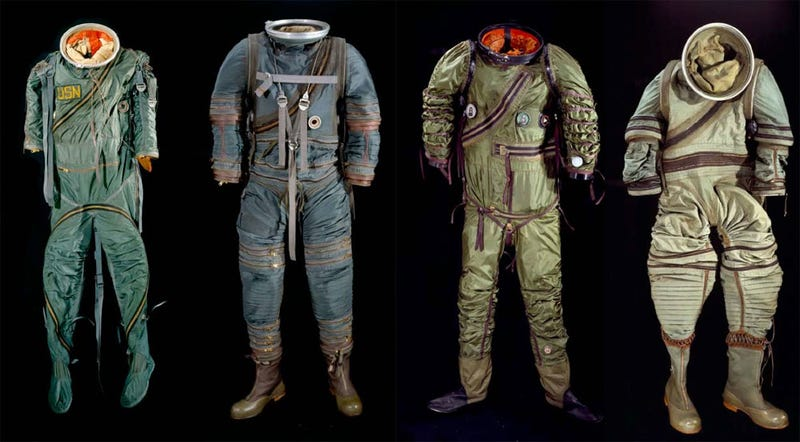 Illustration for article titled Smithsonian's Spacesuits: Number One On The Runway