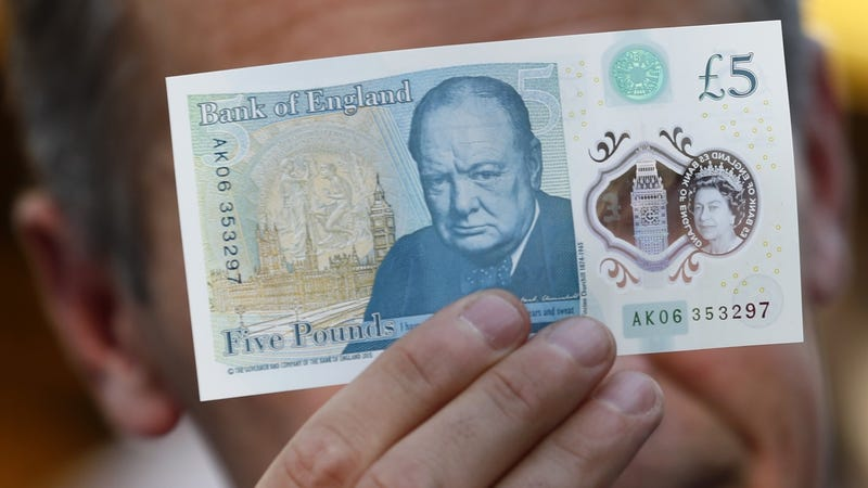 Vegans Are Pissed That Britain's New Money Contains Meat