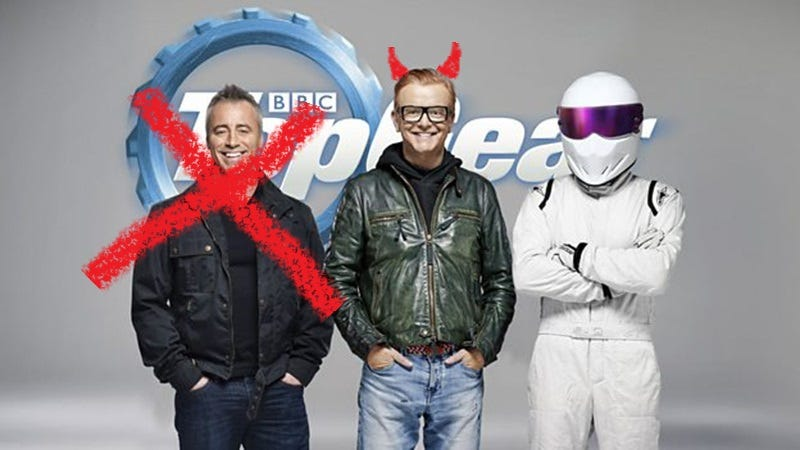 Illustration for article titled Chris Evans Didn't Want Matt LeBlanc On NewTop Gear: Report