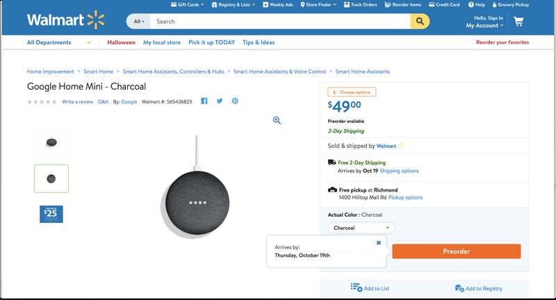 Image: Screenshot via Walmart