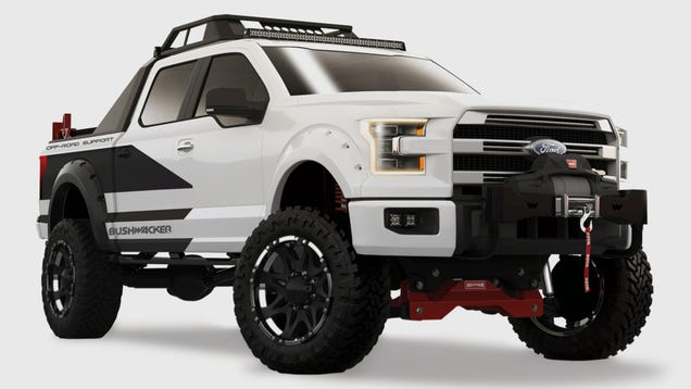 The Bushwacker 2015 Ford F 150 Is For Extreme Off Road Rescues