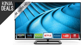 "Step Up to a 50"" 4K TV For $565"
