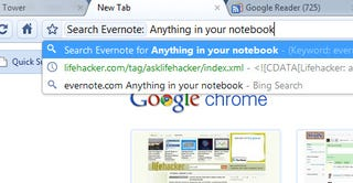 Illustration for article titled Search Your Evernote Notebook with Chrome