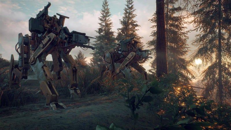 Illustration for article titled New Swedish Robot Game Sure Looks LikeSimon Stålenhag's Art