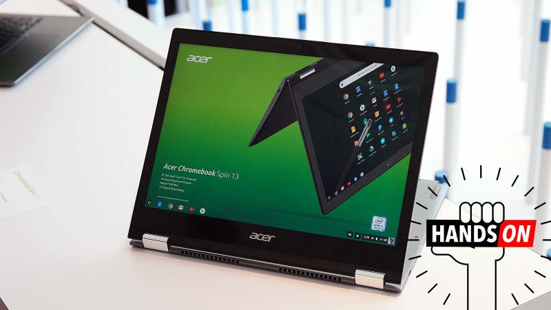 Illustration for article titled Acer's Chromebook Spin 13 Could Be the Most Well-Rounded Chrome OS Laptop On the Market