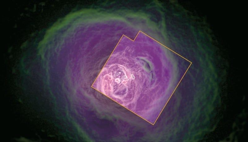 Esto es lo que vio la nave Hitomi antes de perder el control y el contacto con la Tierra