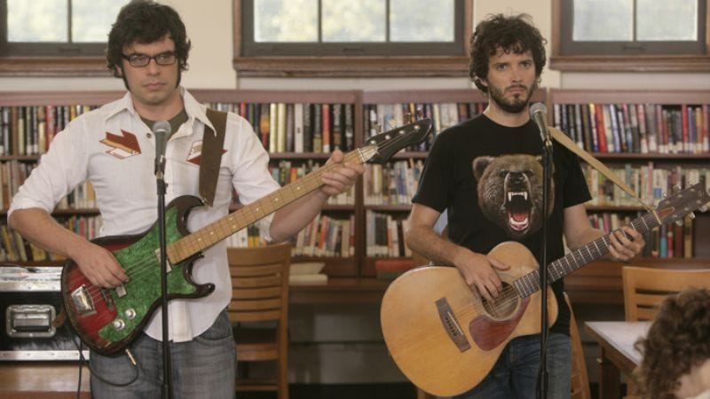 """Illustration for article titled Flight Of The Conchords: """"The Tough Brets"""""""