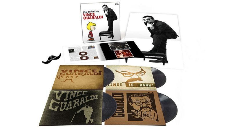 The Definitive Vince Guaraldi box set
