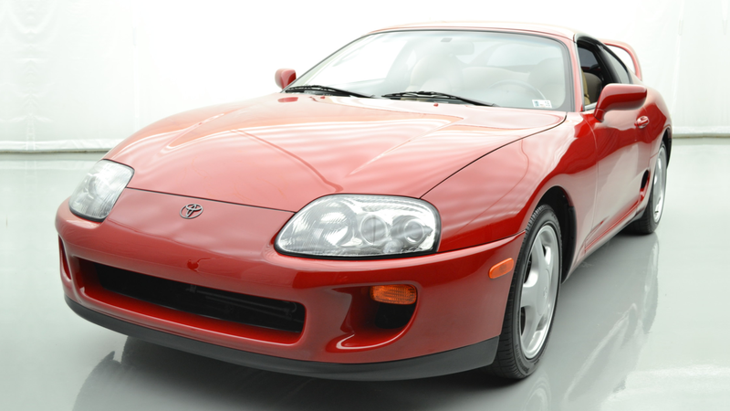 Illustration for article titled The 1994 Toyota Supra That Sold for $121,000 on Bring a Trailer Is Now at a Dealer for $500,000