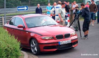 Illustration for article titled Spy Photos: Still More of the US-Bound BMW 1-Series