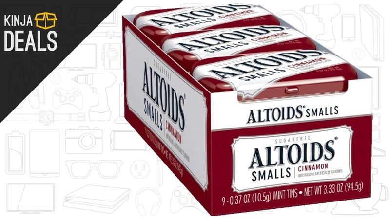 Illustration for article titled Stock Up On Altoids For Less Than $1 Per Tin