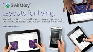 Illustration for article titled SwiftKey Adds Custom Keyboards You Can Resize, Move Around the Screen