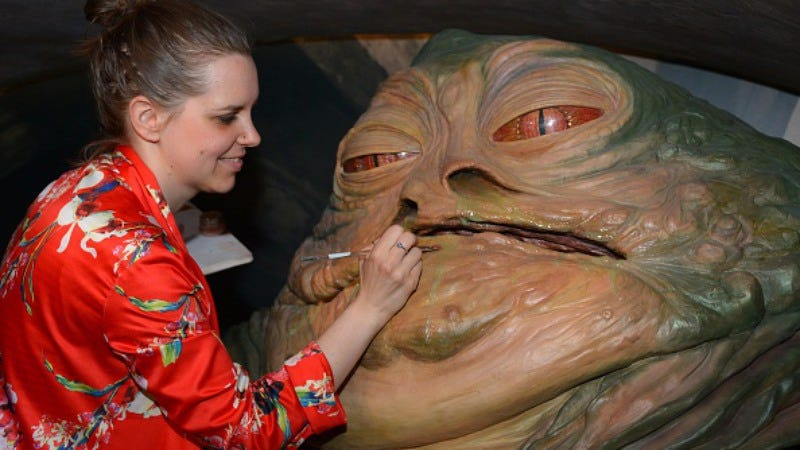 This was taken at Madame Tussaud's, not a scene from the proposed film (Photo: Stuart C. Wilson/Getty Images)
