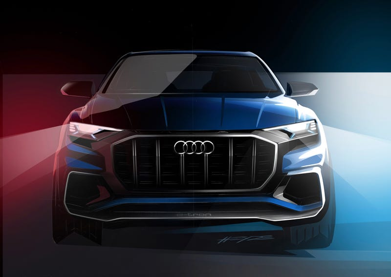 The Audi Q Concept Looks Stupidly Hard To See Out Of - Audi cars q8 price list