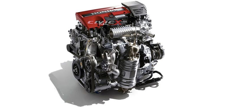 What Can You Tell About The 2017 Honda Civic Type-R Engine By Looking ...