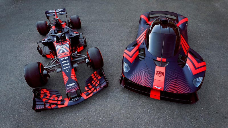 Illustration for article titled If You Don't Order Your Aston Martin Valkyrie in this Livery, You Don't Deserve it