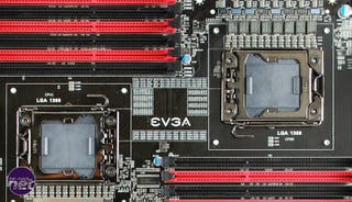 Illustration for article titled EVGA W555 Can Hold Seven GPUs. That's One Mother of a Motherboard.