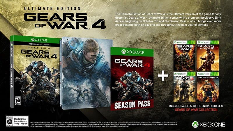 Gears of War 4: Ultimate Edition, $60