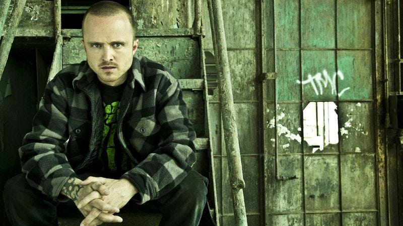 "Illustration for article titled Aaron Paul on Breaking Bad's ""bloodbath"" of a fifth season"