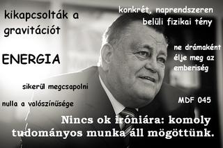 Illustration for article titled Széles Gábor végre őszintén beszél a kozmoszi energiákról