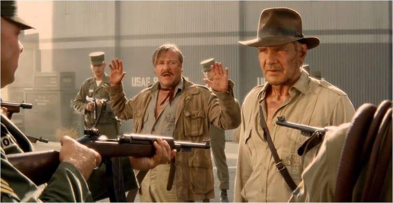 Illustration for article titled 15 minutos de errores en Indiana Jones IV, ¿la peor de la saga?
