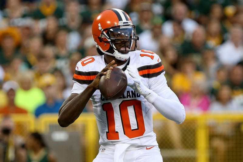Robert Griffin of the Cleveland Browns Dylan Buell/Getty Images
