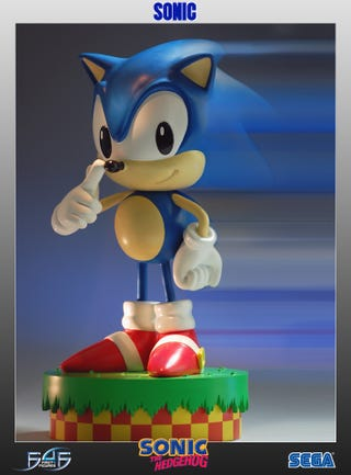 Illustration for article titled Sonic Statue