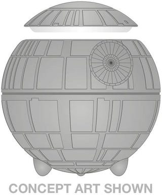 Illustration for article titled Death Star Cookie Jar Keeps Sweets Safe From Everything But the Force
