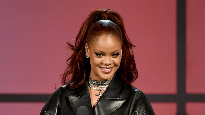Rihanna speaks onstage at the 2019 BET Awards on June 23, 2019 in Los Angeles, California.