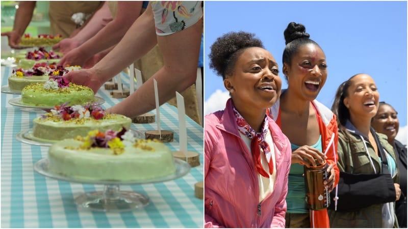 Le Gâteau Vert; Quinta Brunson, Gabrielle Dennis, Robin Thede, Ashley Nicole Black