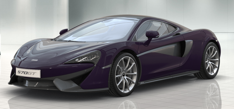 Illustration for article titled Configured McLaren 570GT