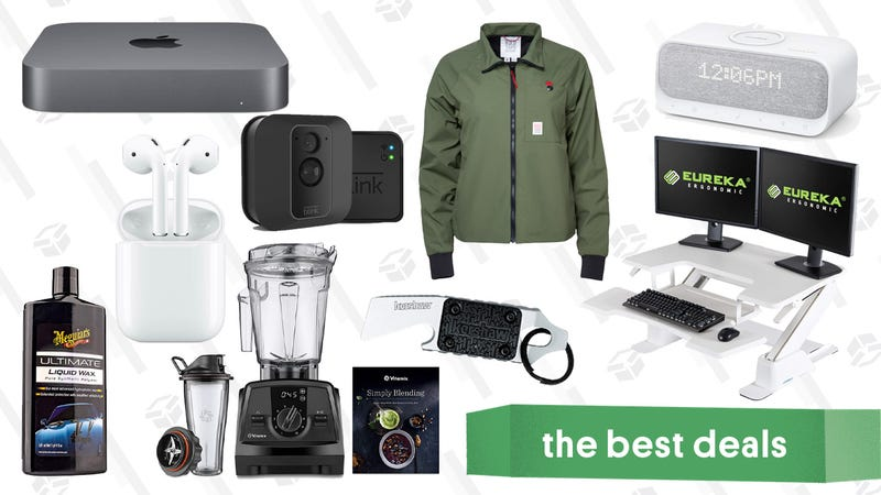 Illustration for article titled Wednesday's Best Deals: Blink Security Cameras, AirPods, Clarks Private Sale, and More