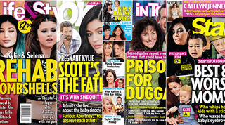Illustration for article titled This Week In Tabloids: Oh My God Kylie Is Pregnant With Scott's Baby