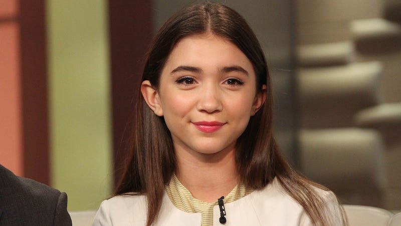 Illustration for article titled Rowan Blanchard, 13-Year-Old Disney Star, Is Smarter on Feminism Than Many Adults