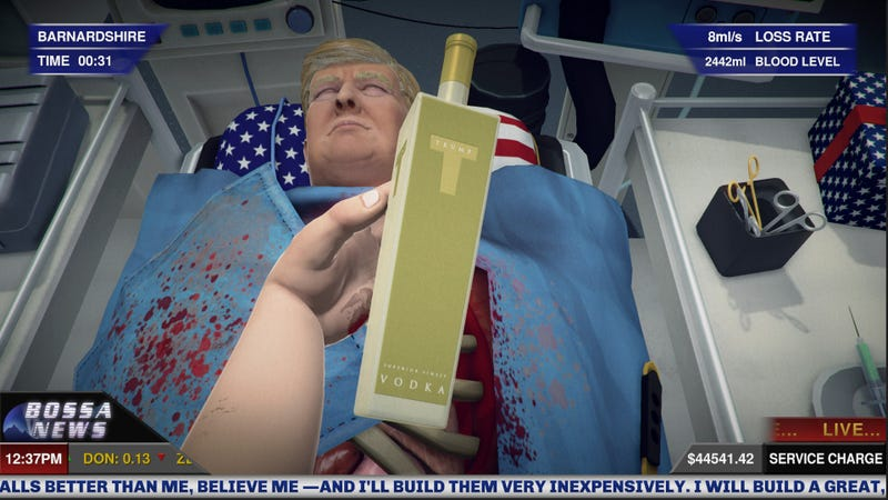 Illustration for article titled Surgeon Simulator Will Now Let You Operate On Donald Trump