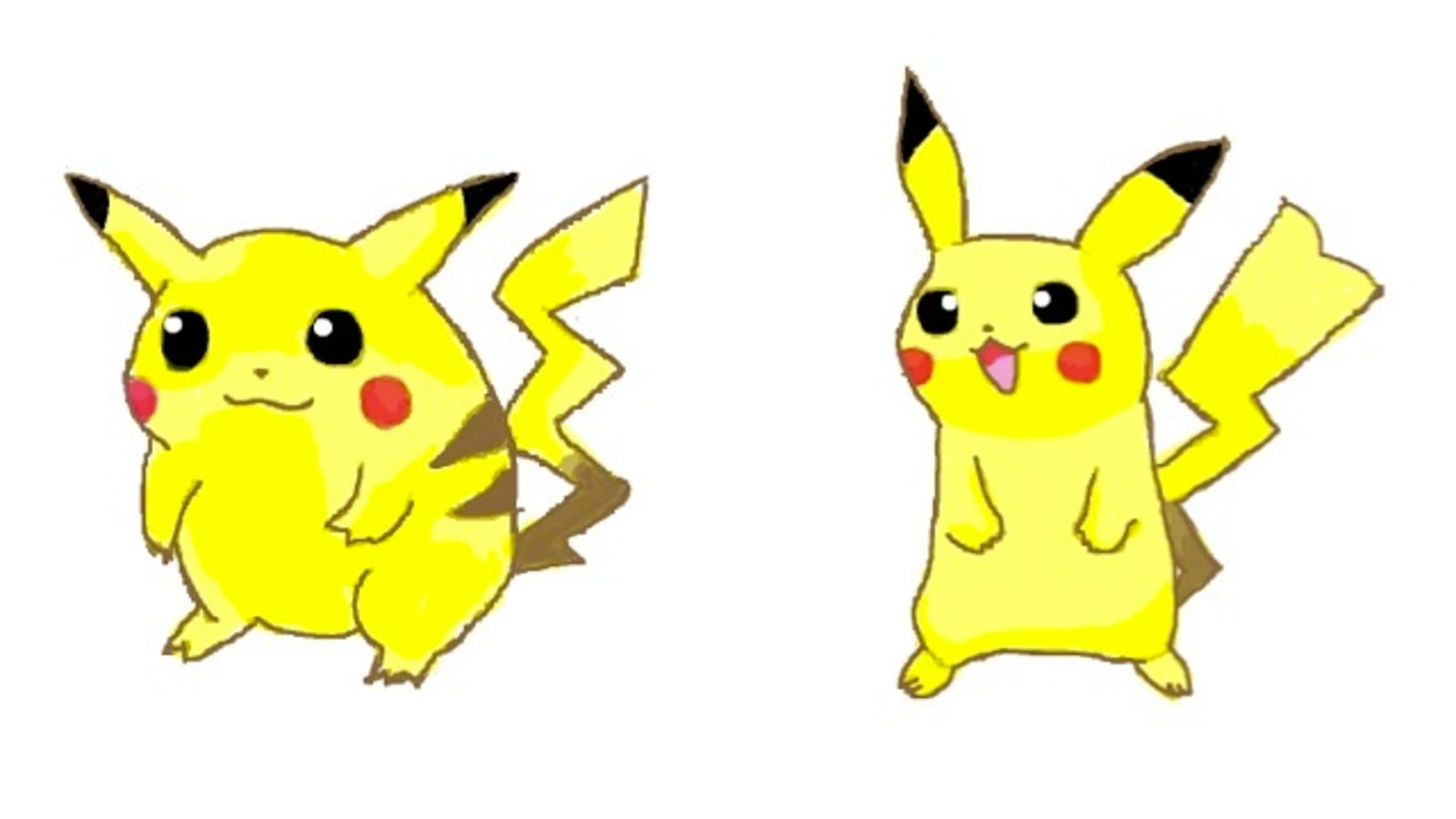 Pikachu Used To Be Way Cuter And Fatter
