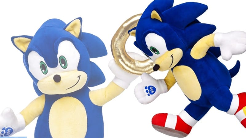 Illustration for article titled Build-A-Bear Does The Best Sonic The Hedgehog It Can