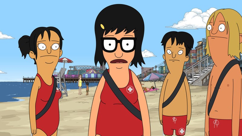 Illustration for article titled It's Tina's time to sink or swim on a beachy Bob's Burgers