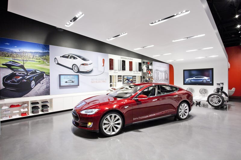 Illustration for article titled It's UnAmerican to deny Tesla the right to sell their products