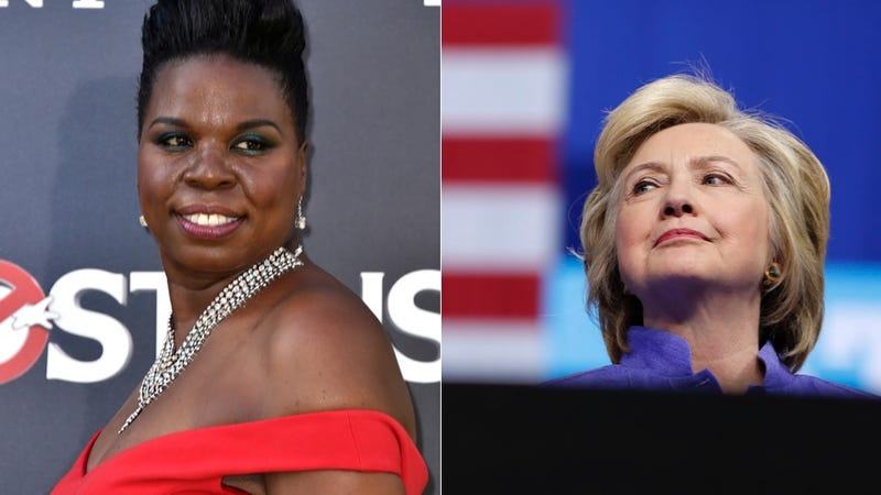 Illustration for article titled Hillary Clinton Tweets Support for Leslie Jones
