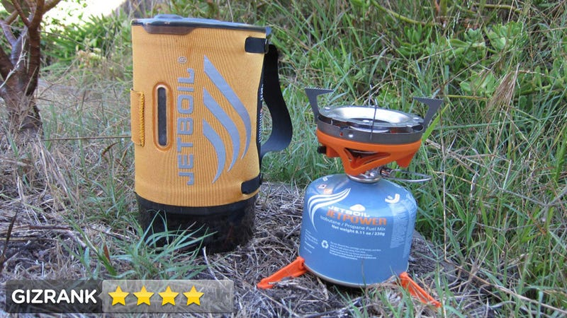 Illustration for article titled Jetboil Sumo Ti and Sol Cooking System Lightning Review