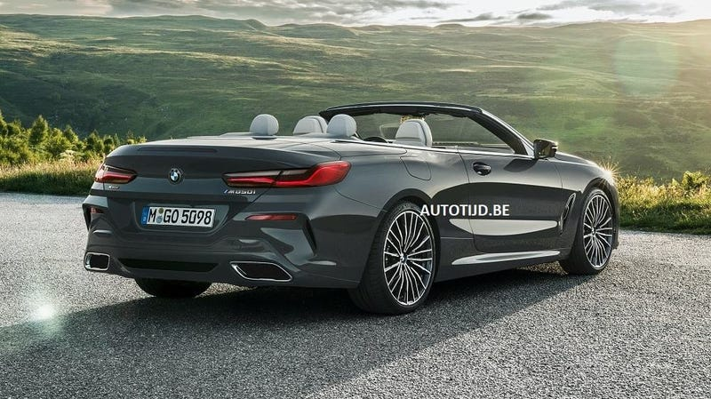 Illustration for article titled 2019 BMW 8 Series Convertible: This Is It